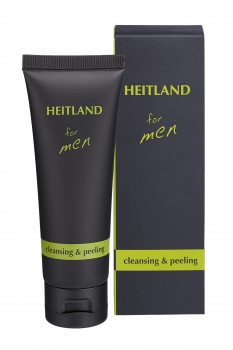 HEITLAND for men cleansing + peeling